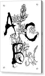 A B C  Acrylic Print