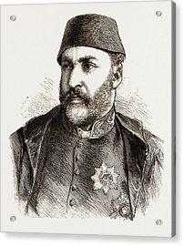 Abd-ul-aziz, The Late Sultan Of Turkey Acrylic Print