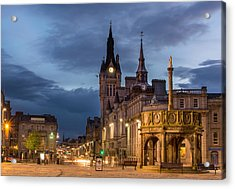 Aberdeen At Night Acrylic Print