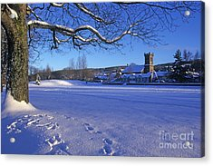 Aberlour Winter Acrylic Print by Phil Banks