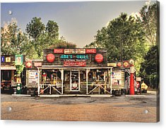Abe's Grill - Fine Southern Food Acrylic Print