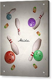 Abide Acrylic Print by Filippo B