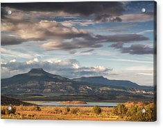 Abiquiu New Mexico Pico Pedernal In The Morning Acrylic Print