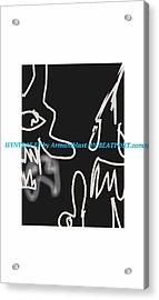 Ablaz Elektro Dz Deux Acrylic Print by Armando Lopez de Elizalde