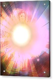 Ablaze Acrylic Print by Desline Vitto