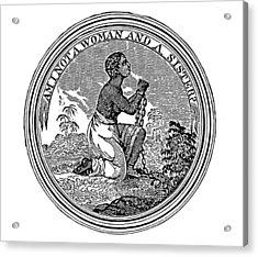 Abolition Emblem, 1837 Acrylic Print