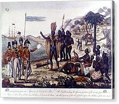 Abolition Of Slavery, 1815 Acrylic Print