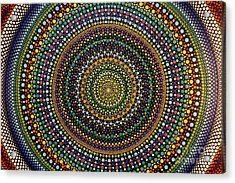 Aboriginal Inspirations 29 Acrylic Print