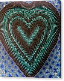 Aboriginal Inspirations 5 Acrylic Print by Mariusz Czajkowski
