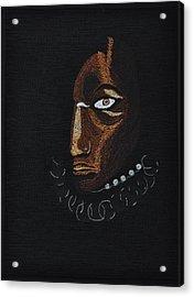 Aboriginal Woman Acrylic Print