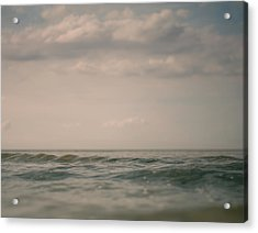 Above 2 Acrylic Print by Violet Gray