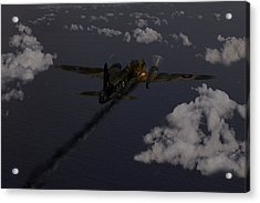 Above And Beyond - Jimmy Ward Vc Acrylic Print