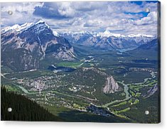 Above Banff Acrylic Print