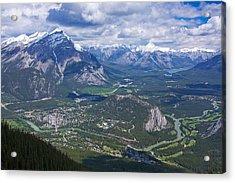 Above Banff Acrylic Print by Stuart Litoff