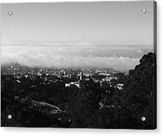 Above Cal Acrylic Print by Lennie Green