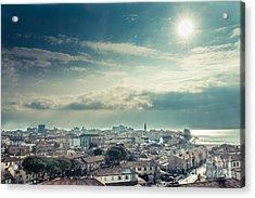 Above Grado Acrylic Print by Hannes Cmarits