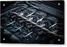 Above Lax Acrylic Print