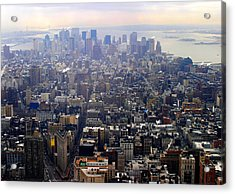 Above New York Acrylic Print