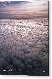 Above The Clouds 1 Acrylic Print by William Reek