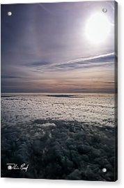Above The Clouds 2 Acrylic Print by William Reek