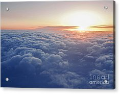 Above The Clouds Acrylic Print by Elena Elisseeva