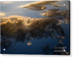 Acrylic Print featuring the photograph Above The Clouds by Janice Westerberg