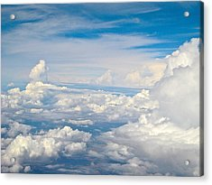 Above The Clouds Over Texas Image B Acrylic Print