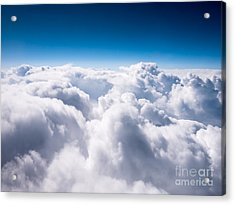 Above The Clouds Acrylic Print by Paul Velgos