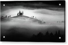 Above The Mist Acrylic Print