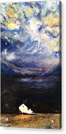 Above The Storm Acrylic Print by Patty Kingsley