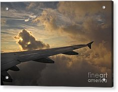 Acrylic Print featuring the photograph Above The Weather by Inge Riis McDonald