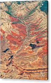 Acrylic Print featuring the digital art Above Timber Line by Mae Wertz
