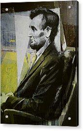 Abraham Lincoln 03 Acrylic Print
