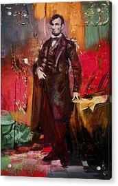 Abraham Lincoln 05 Acrylic Print