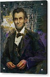 Abraham Lincoln 07 Acrylic Print