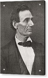 Abraham Lincoln, 1860 Acrylic Print
