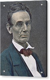Abraham Lincoln Acrylic Print by American Photographer