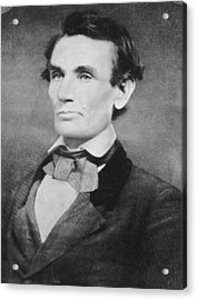 Abraham Lincoln Acrylic Print by Anonymous