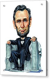 Abraham Lincoln Acrylic Print by Art