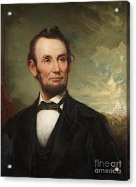 Abraham Lincoln  Acrylic Print by George Henry Story