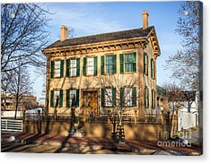 Abraham Lincoln Home In Springfield Illinois Acrylic Print