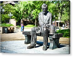 Acrylic Print featuring the photograph Abraham Lincoln Monument by Boris Mordukhayev