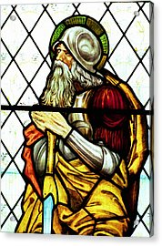 Abraham The Patriarch In Stained Glass Acrylic Print