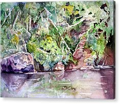 Abram's Creek Acrylic Print