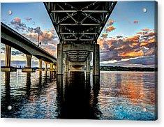 Abridged Sunset Acrylic Print by Brian Xavier