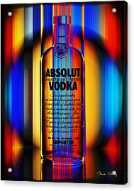 Absolut Abstract Acrylic Print