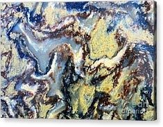 Patterns In Stone - 95 Acrylic Print