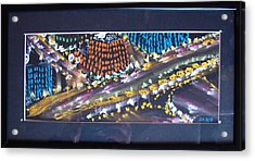 Absrtract Traffic Acrylic Print by Joseph Hawkins