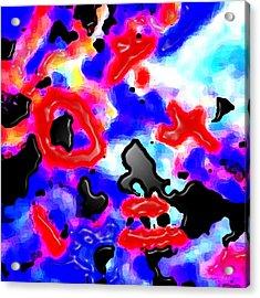 Abst 5 Acrylic Print by Bruce Iorio