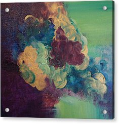 Acrylic Print featuring the painting Abstract 1 by Kristine Bogdanovich